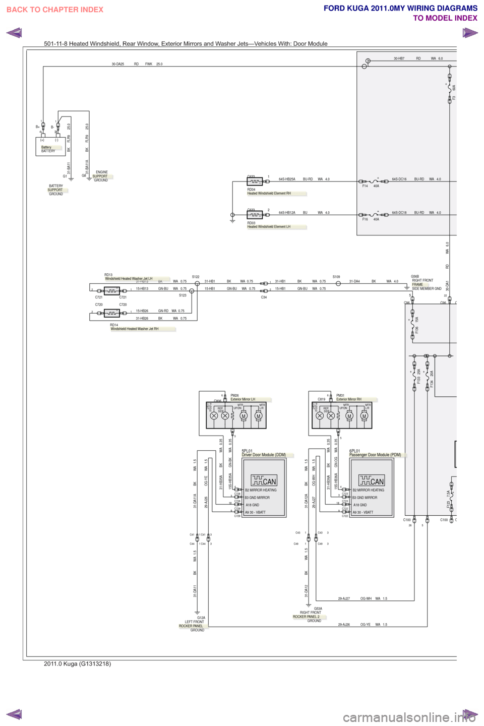 hight resolution of ford kuga 2011 1 g wiring diagram workshop manual page 420