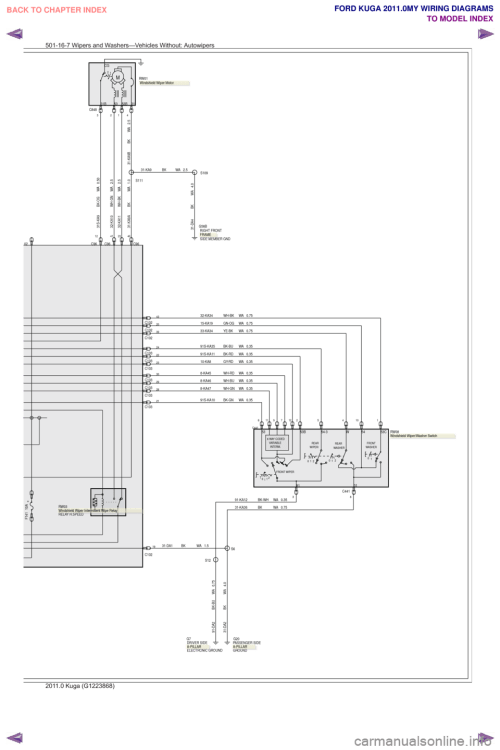 small resolution of ford kuga 2011 1 g wiring diagram workshop manual page 471