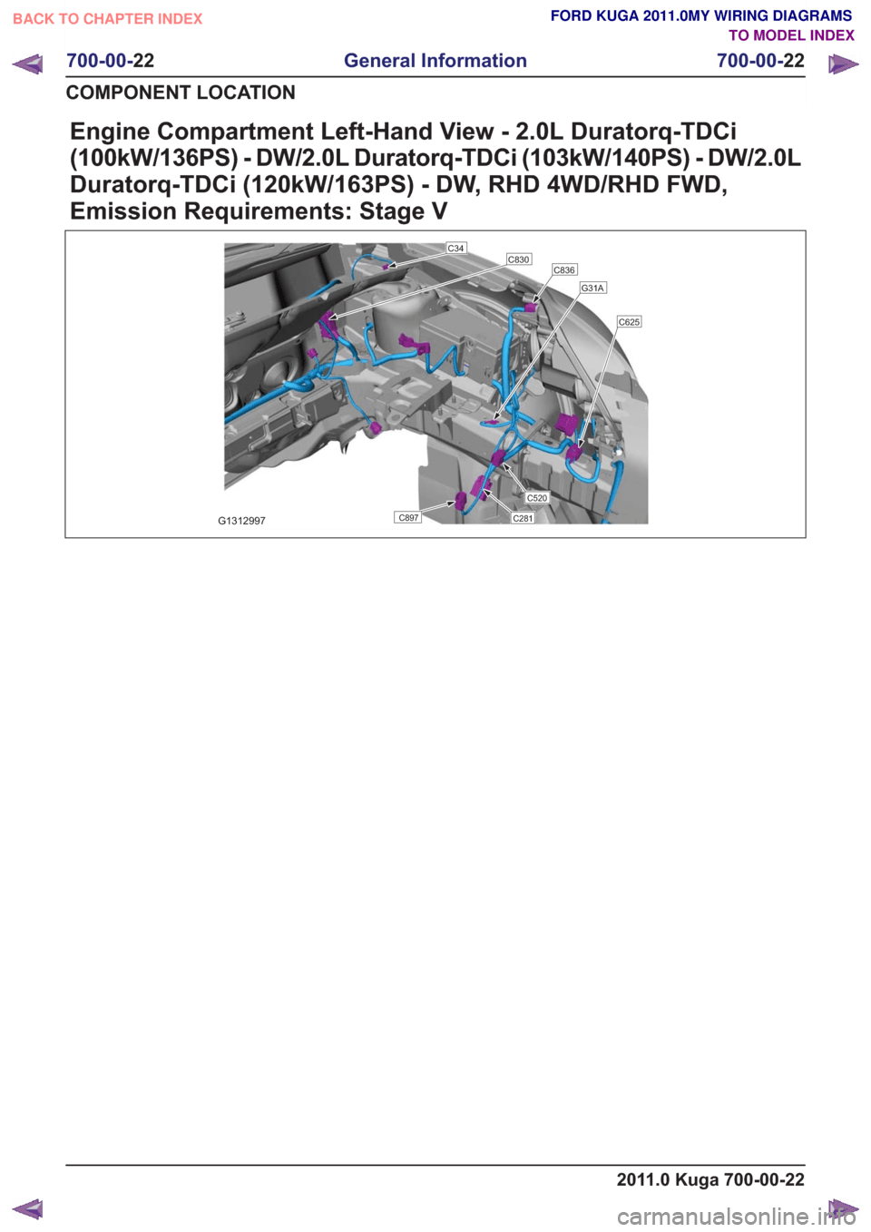 hight resolution of 2011 ford fusion engine compartment diagram