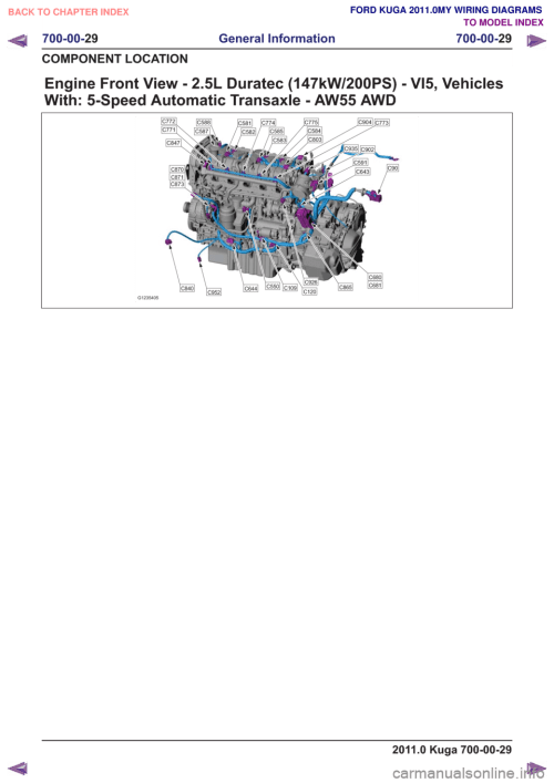 small resolution of ford kuga 2011 1 g wiring diagram workshop manual page 517