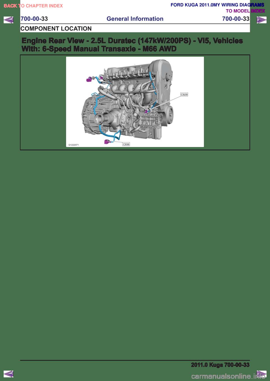 medium resolution of ford kuga 2011 1 g wiring diagram workshop manual page 521