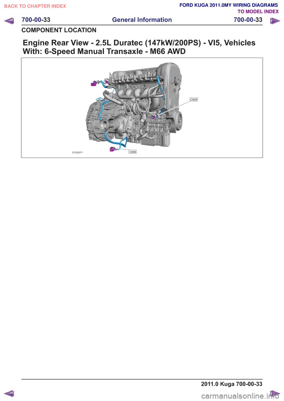 hight resolution of ford kuga 2011 1 g wiring diagram workshop manual page 521