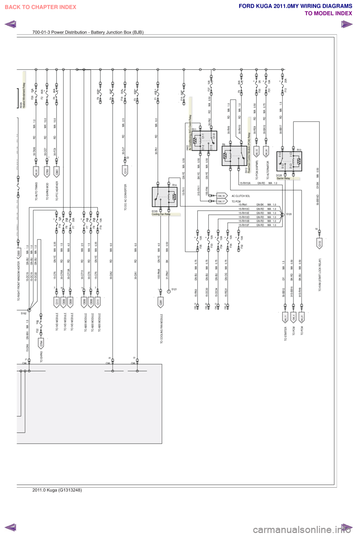 hight resolution of ford kuga 2011 1 g wiring diagram workshop manual 1951 ford car wiring diagram