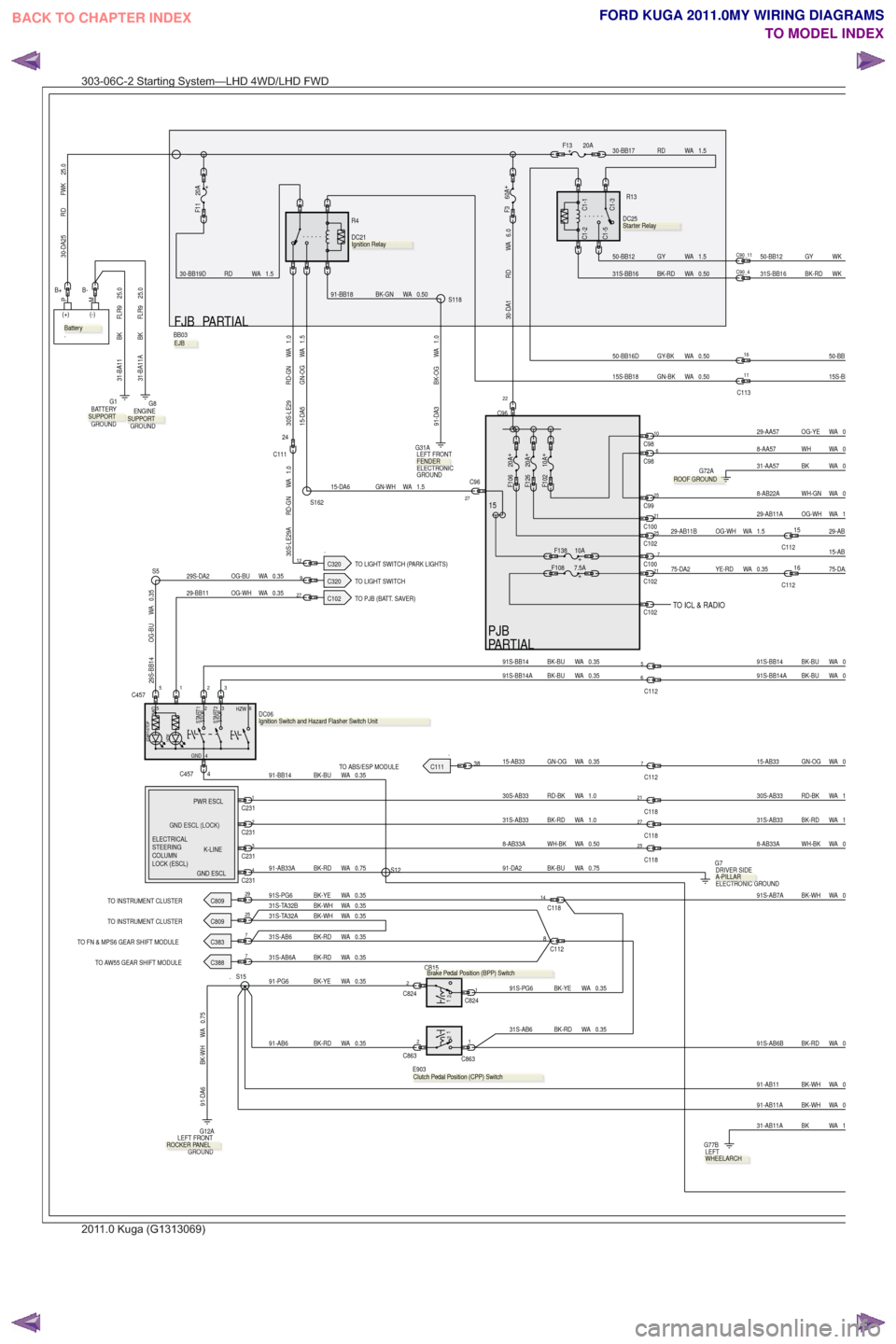 hight resolution of g wiring diagram workshop manual page 68