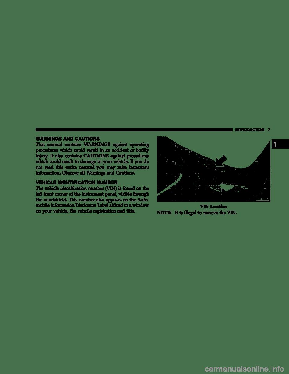 DODGE DURANGO 2007 2.G Owners Manual