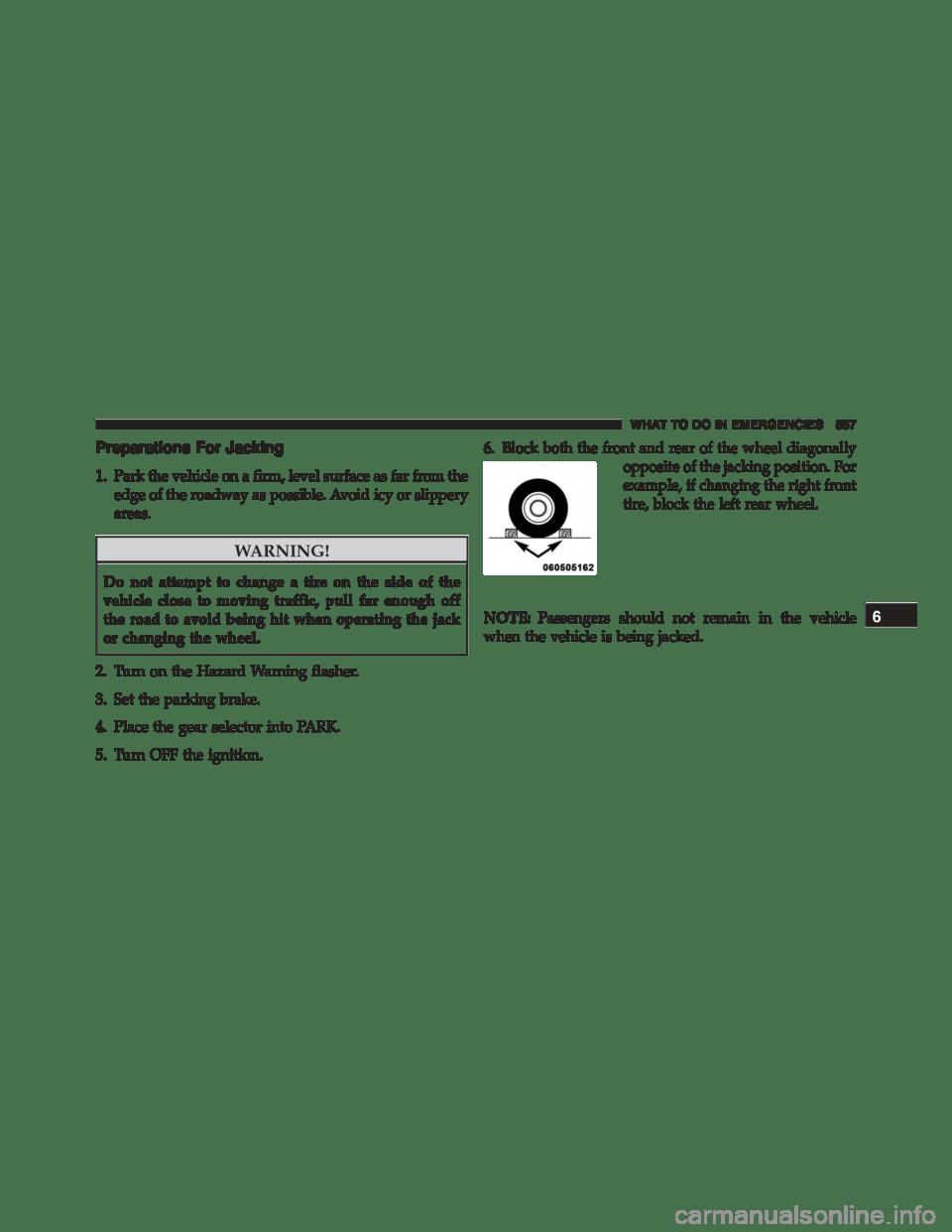 DODGE DURANGO 2015 3.G Owners Manual
