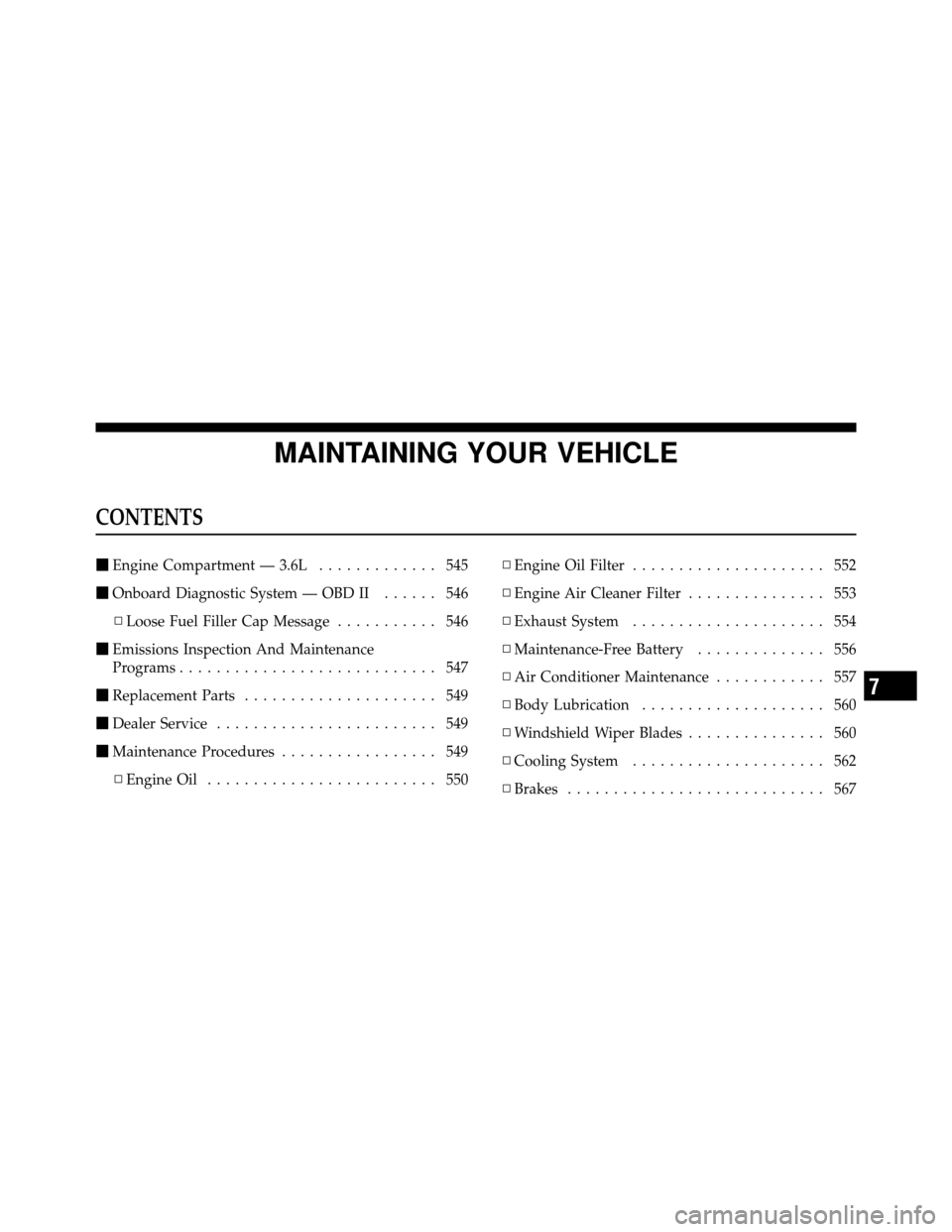 DODGE GRAND CARAVAN 2012 5.G Owners Manual