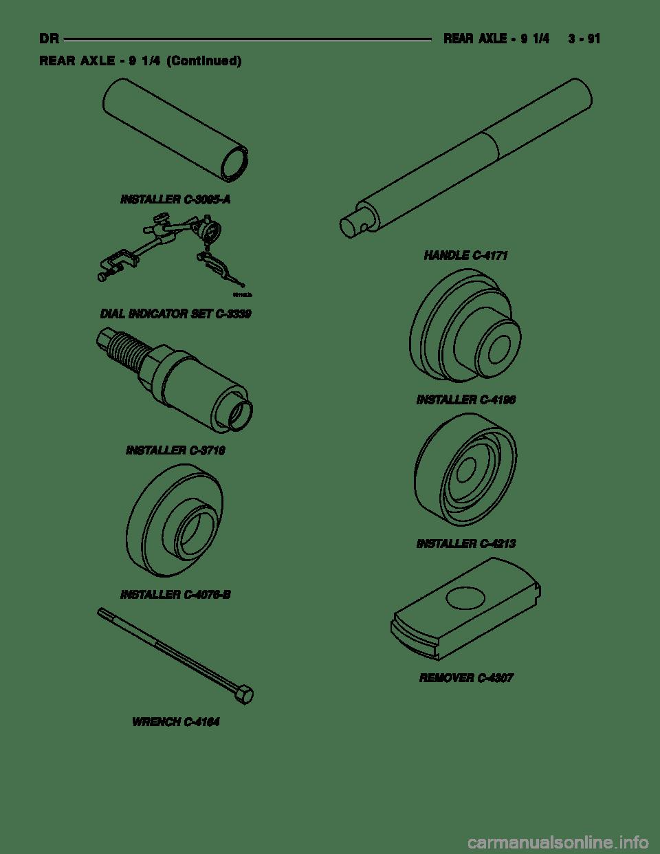 DODGE RAM 1500 1998 2.G Workshop Manual (2627 Pages), Page