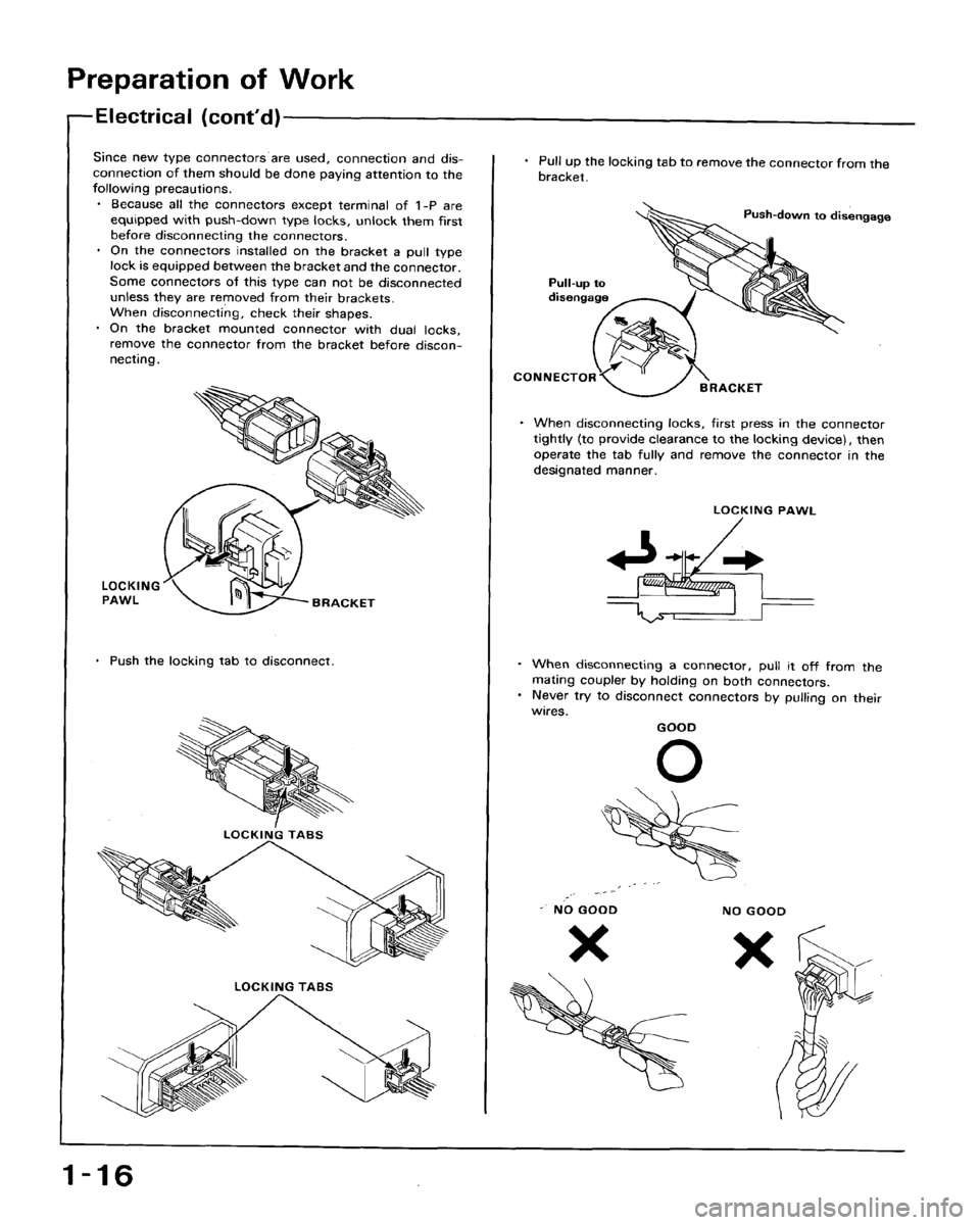HONDA ACCORD 1993 CB / 4.G Workshop Manual