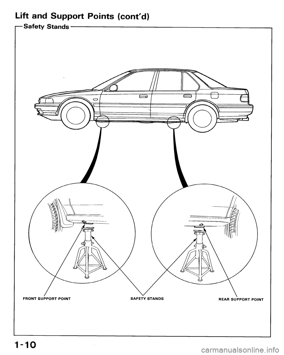 HONDA ACCORD 1993 CB / 4.G Workshop Manual