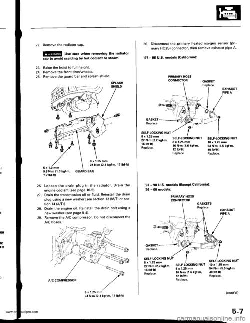 small resolution of washer fluid honda cr v 1999 rd1 rd3 1 g workshop manual