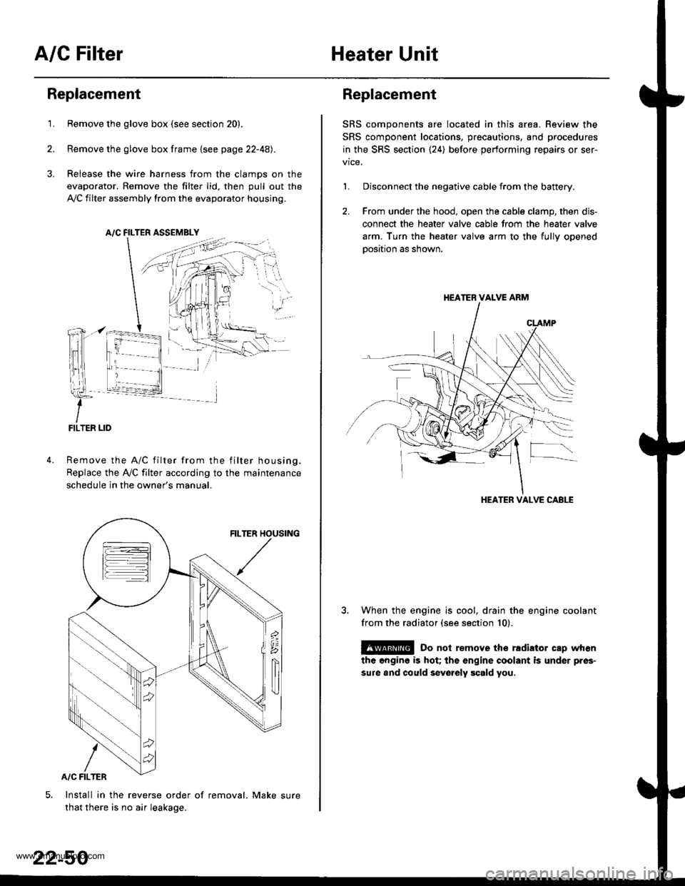hight resolution of honda cr v 1999 rd1 rd3 1 g workshop manual