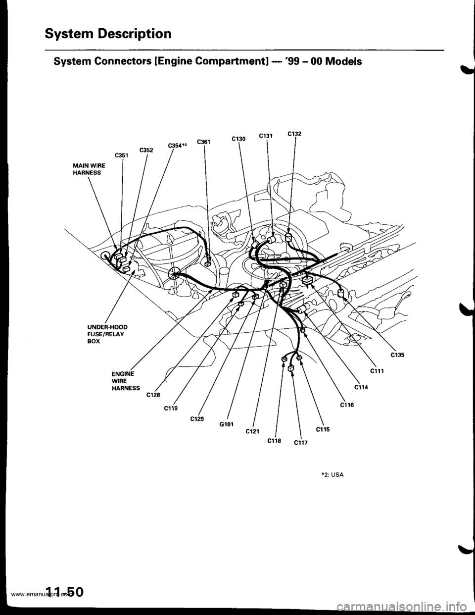 HONDA CR-V 1998 RD1-RD3 / 1.G Workshop Manual