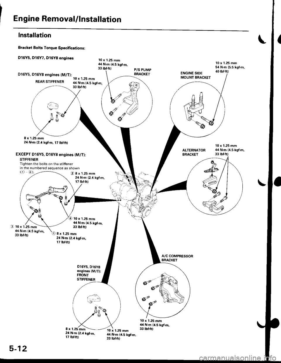 HONDA CIVIC 1998 6.G Workshop Manual