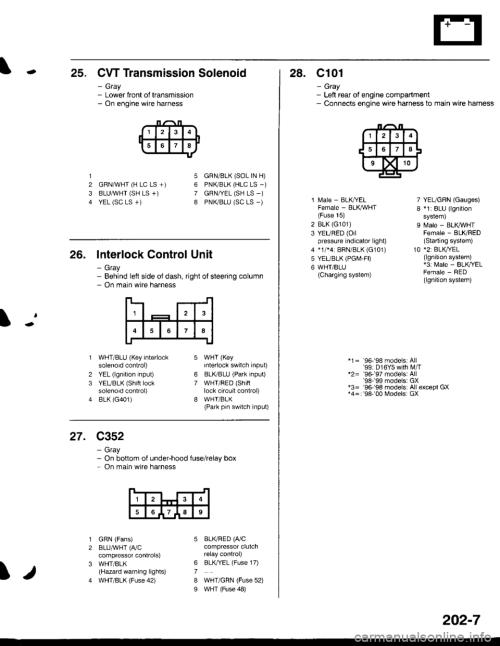 small resolution of honda civic 1998 6 g workshop manual page 2114