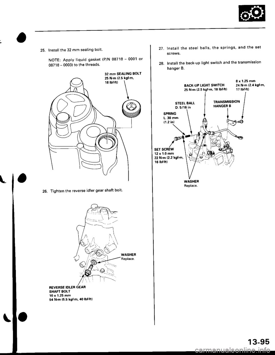 HONDA CIVIC 1997 6.G Workshop Manual