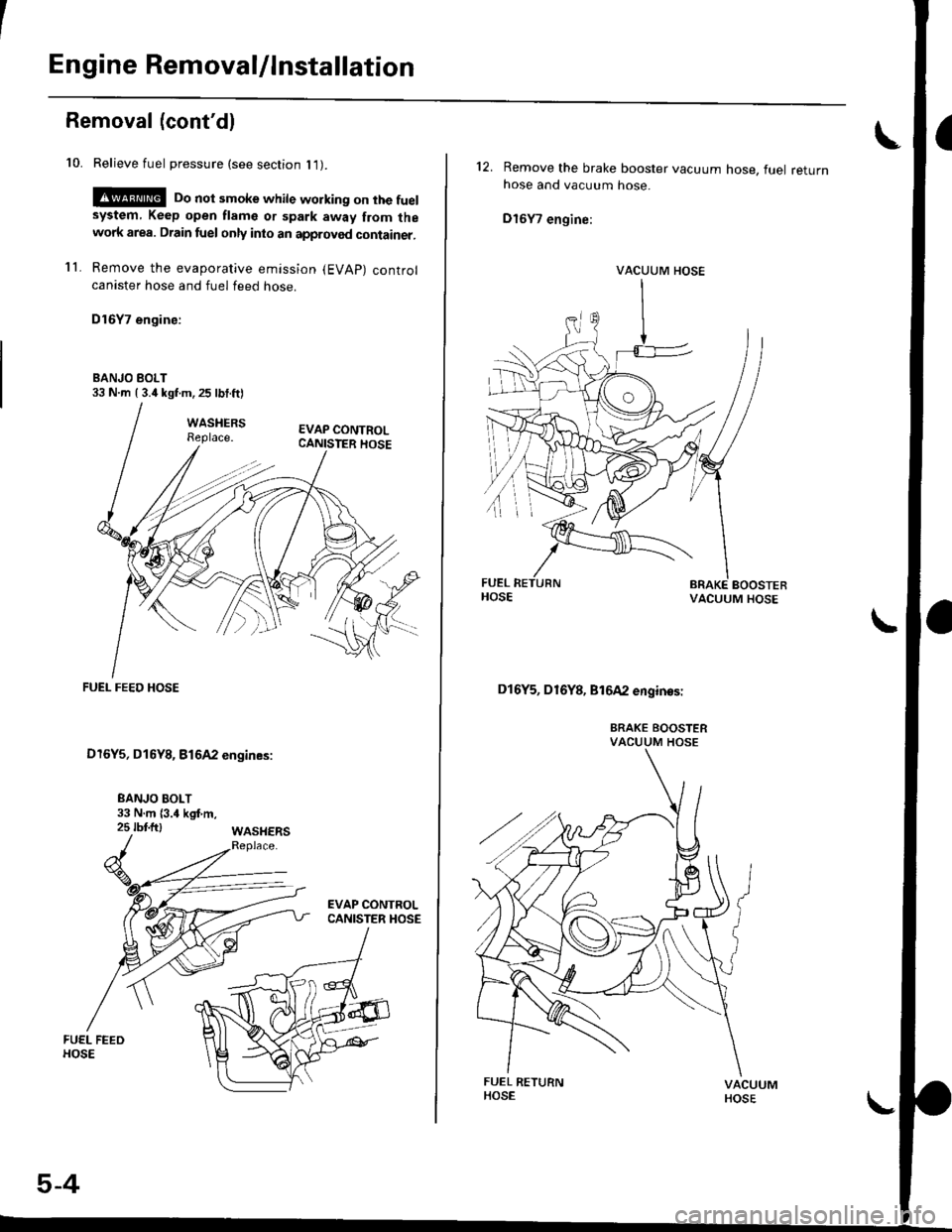 HONDA CIVIC 1999 6.G Workshop Manual