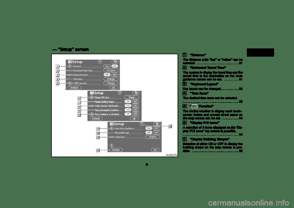 TOYOTA 4RUNNER 2006 N210 / 4.G Navigation Manual