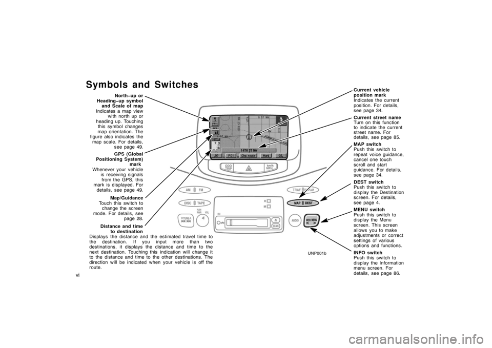 TOYOTA PRIUS 2003 1.G Navigation Manual