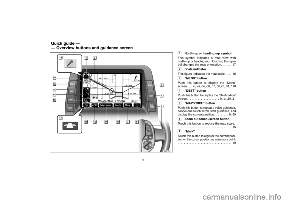 TOYOTA PRIUS 2006 2.G Navigation Manual