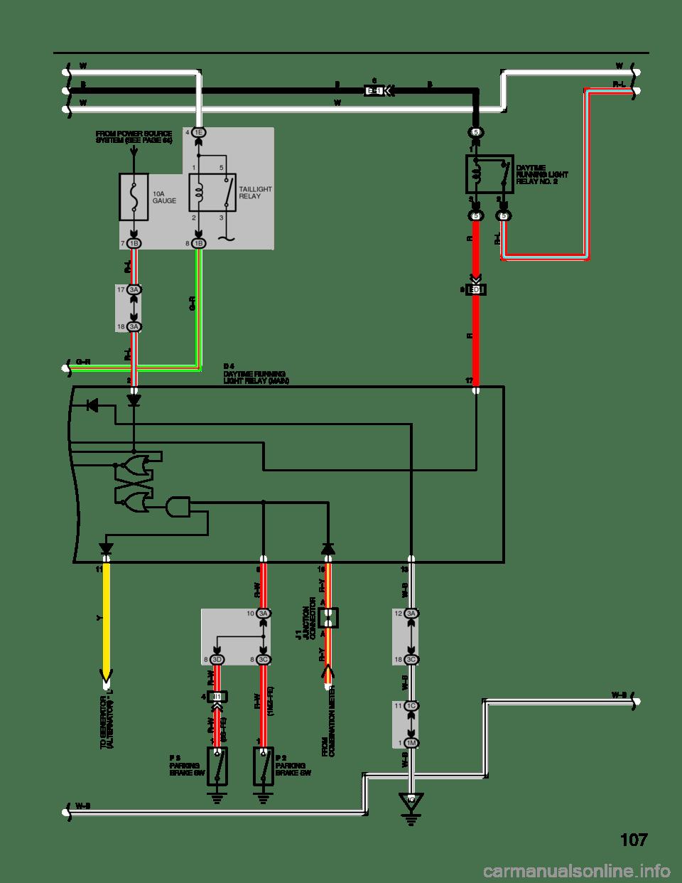 medium resolution of g wiring diagrams workshop manual page 107