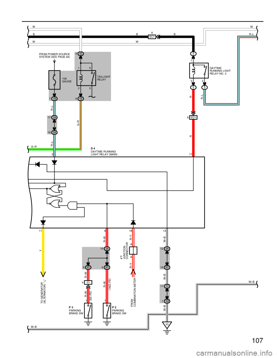 hight resolution of g wiring diagrams workshop manual page 107