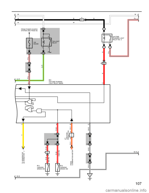 small resolution of g wiring diagrams workshop manual page 107