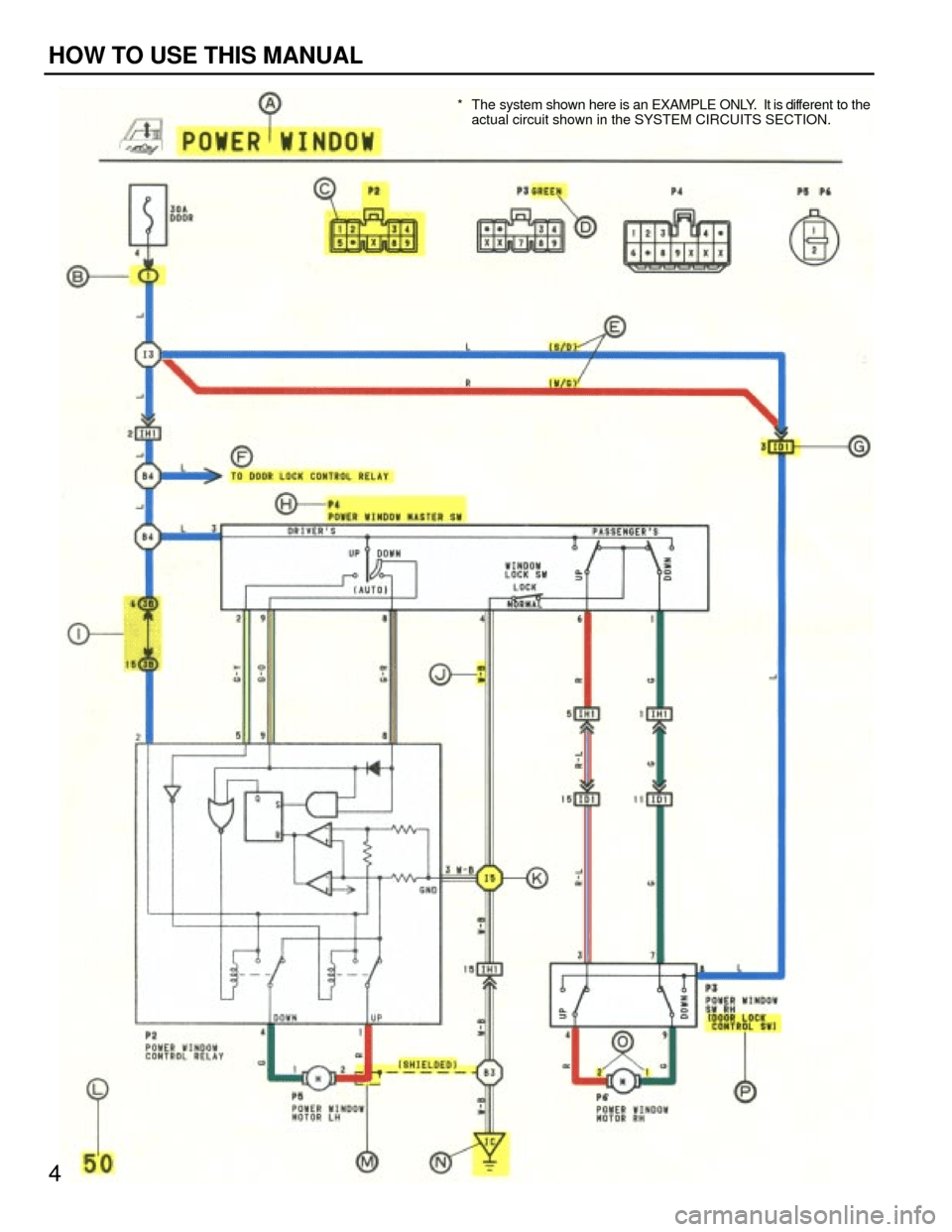 medium resolution of  4 g wiring diagrams workshop manual rh carmanualsonline info at toyota camry 1994 xv10 4 g wiring diagrams workshop manual page 4 for 2002 prius wiring