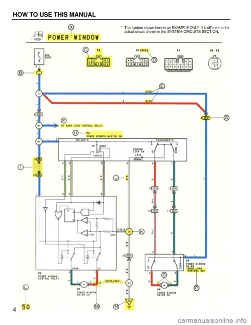 small resolution of  4 g wiring diagrams workshop manual rh carmanualsonline info at toyota camry 1994 xv10 4 g wiring diagrams workshop manual page 4 for 2002 prius wiring