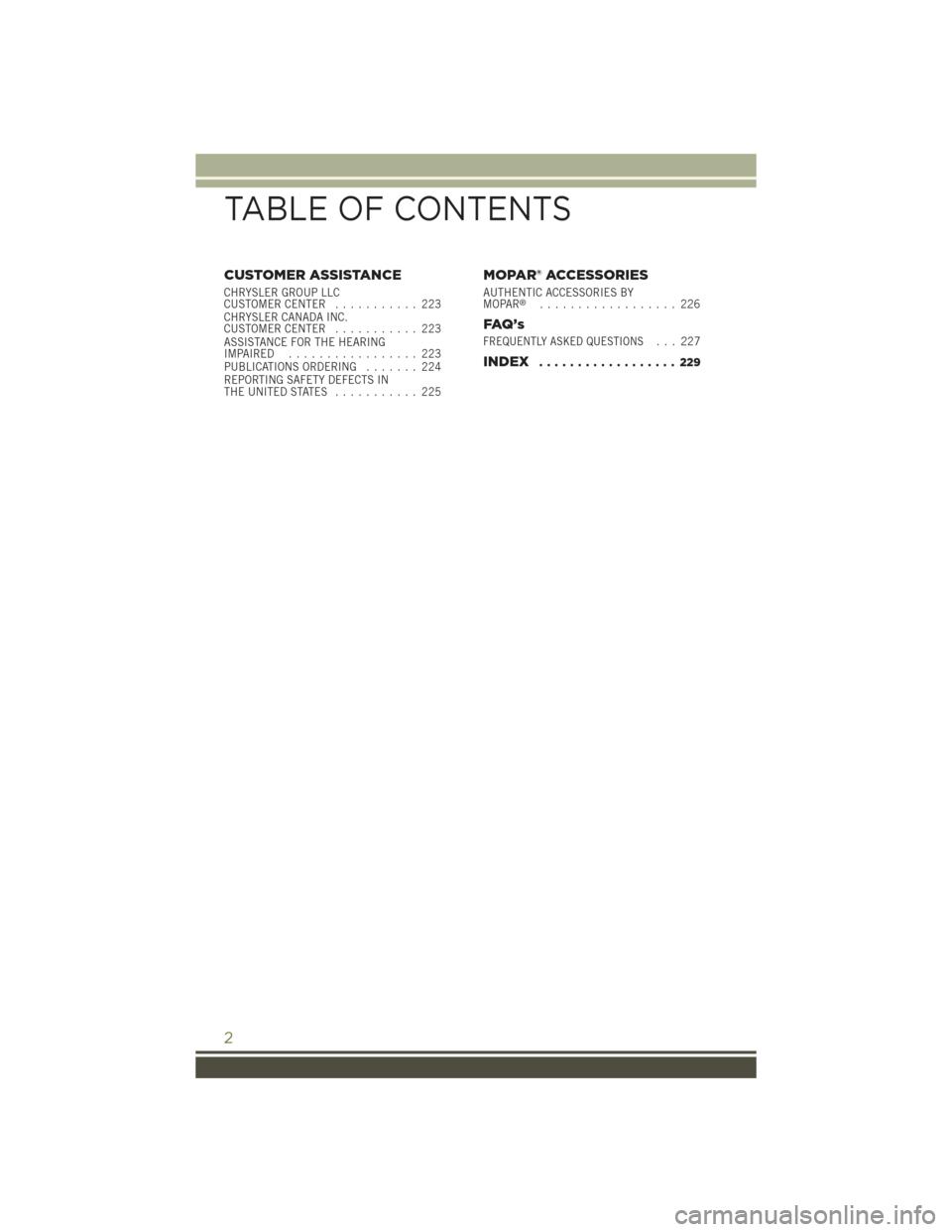 JEEP CHEROKEE 2015 KL / 5.G User Guide