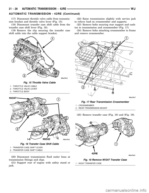 small resolution of 2003 jeep grand cherokee drivetrain diagram