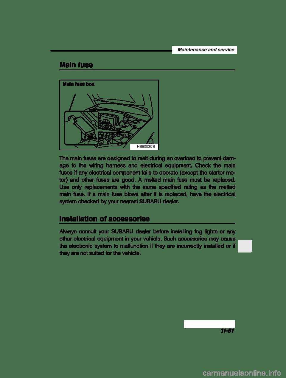 medium resolution of subaru baja 2003 1 g owners manual