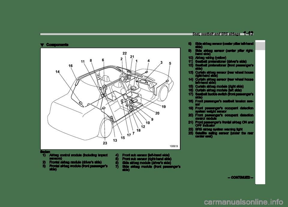 SUBARU LEGACY 2008 4.G Owners Manual