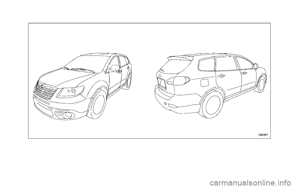 SUBARU TRIBECA 2014 1.G Owners Manual