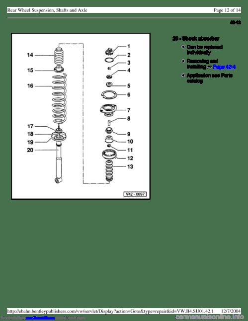 small resolution of volkswagen passat 1996 b3 b4 3 g service workshop manual page 108