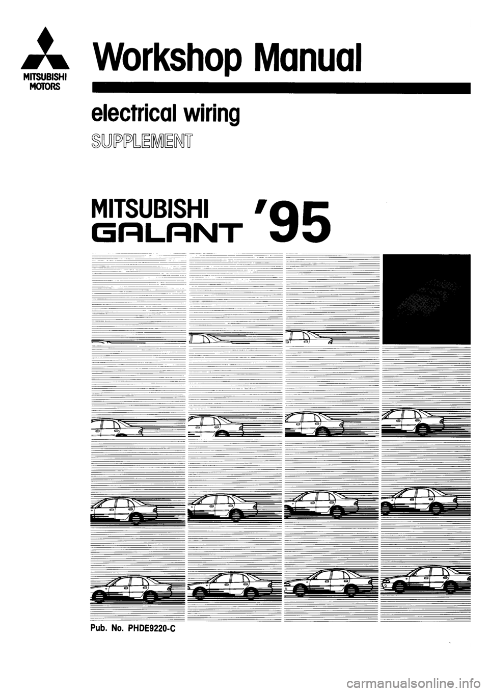 hight resolution of 1993 mitsubishi galant ecu wiring diagram