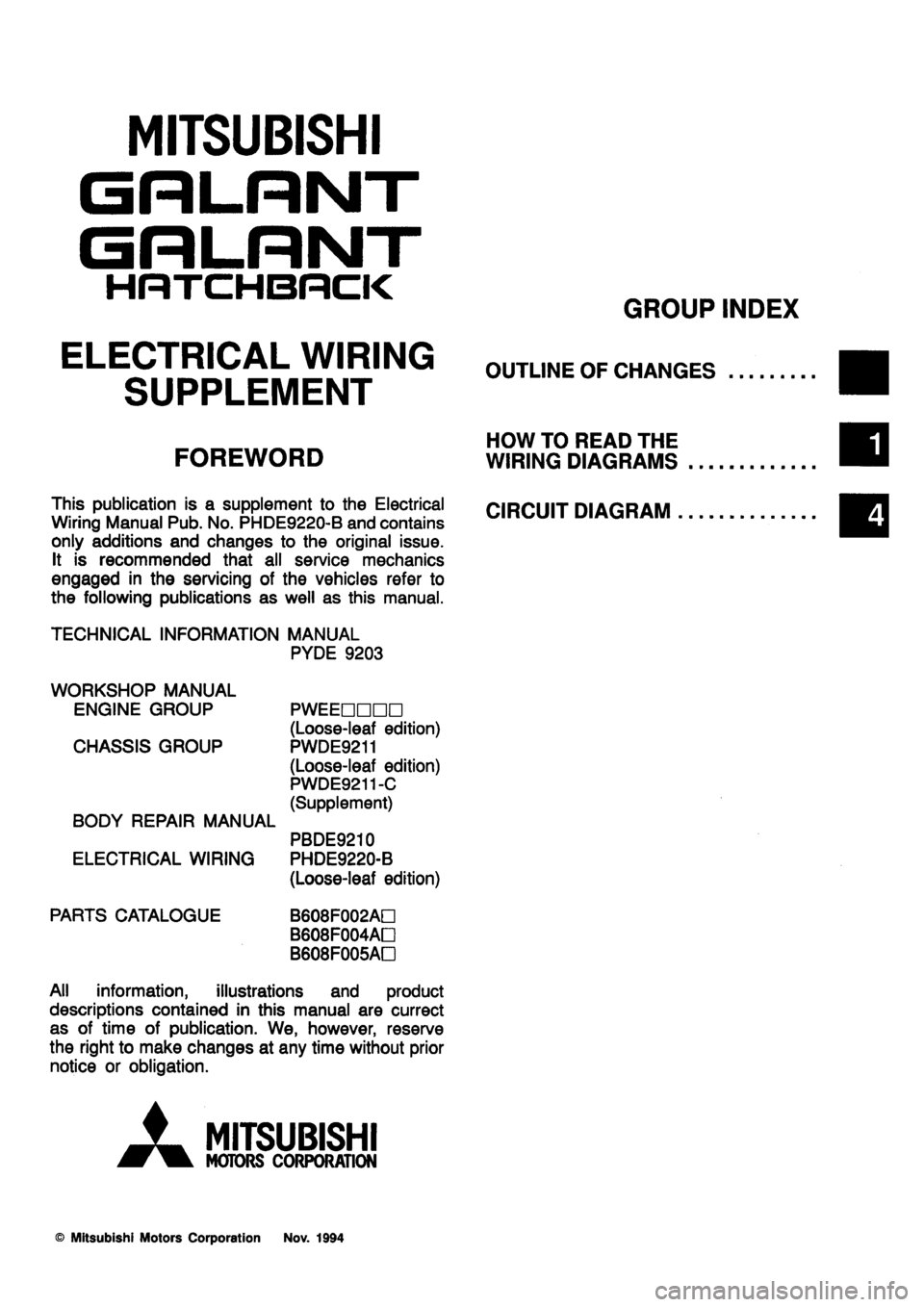 medium resolution of galant wiring diagram