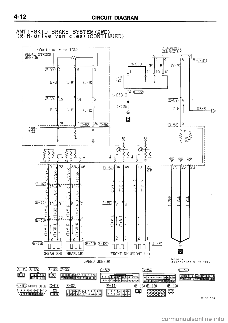 MITSUBISHI GALANT 1995 7.G Electrical Wiring Diagram Owner