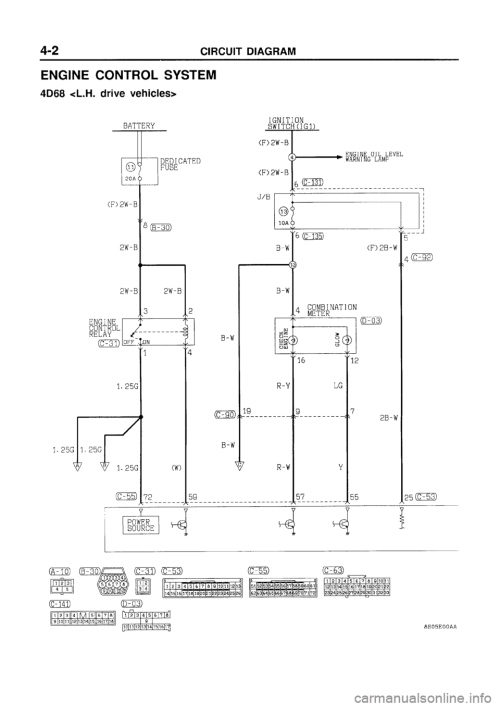 small resolution of g electrical wiring diagram workshop manual