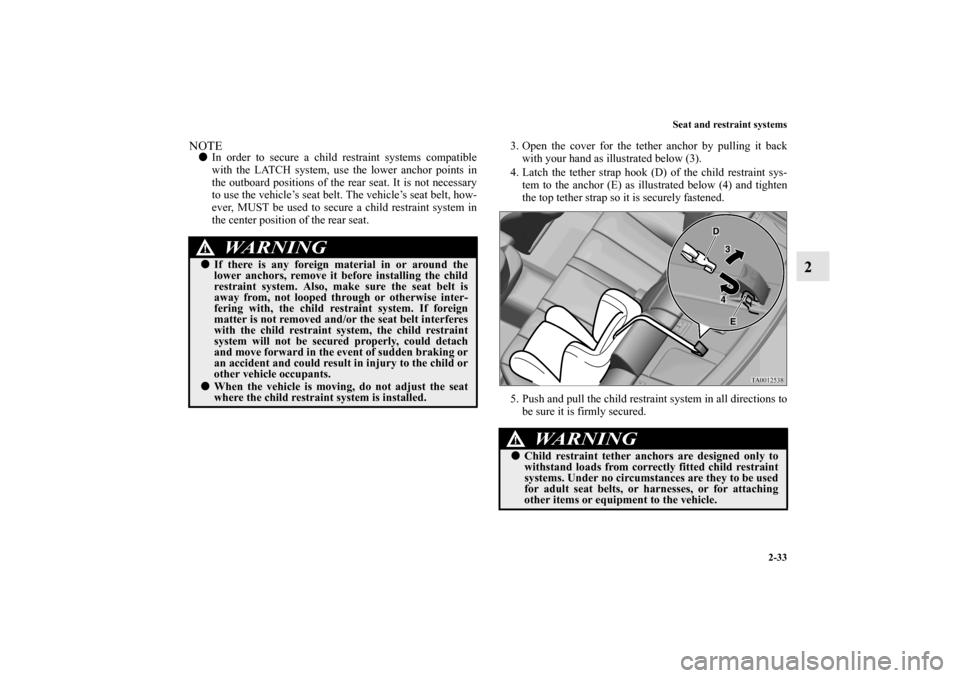 MITSUBISHI GALANT 2012 9.G Workshop Manual (424 Pages)