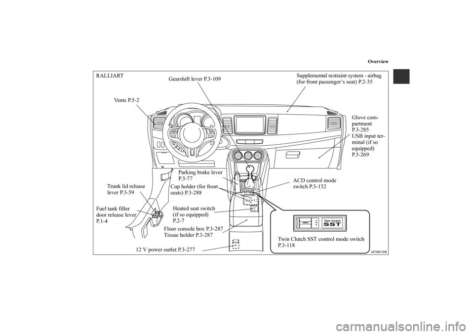 MITSUBISHI LANCER 2011 8.G Owners Manual