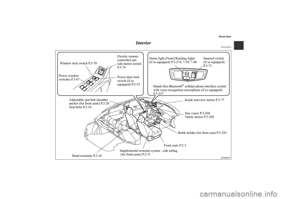 MITSUBISHI LANCER RALLIART 2010 8.G Owners Manual