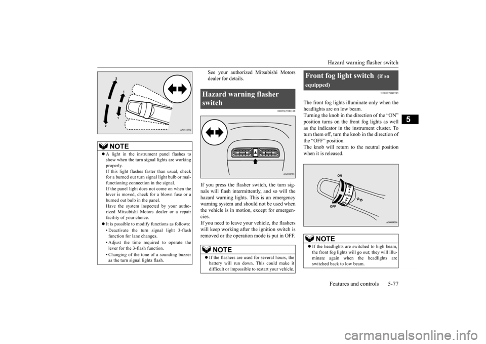 MITSUBISHI MIRAGE 2015 6.G Owners Manual