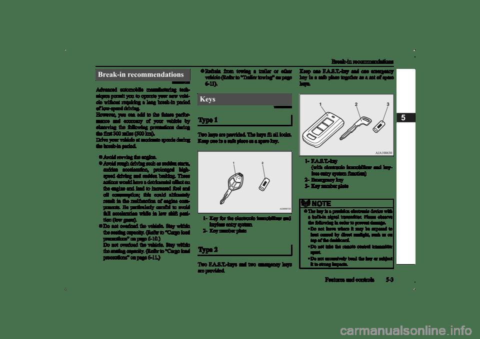 MITSUBISHI OUTLANDER 2014 3.G Manual Online (451 Pages)