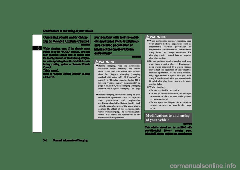 remote control MITSUBISHI iMiEV 2016 1.G Owners Manual