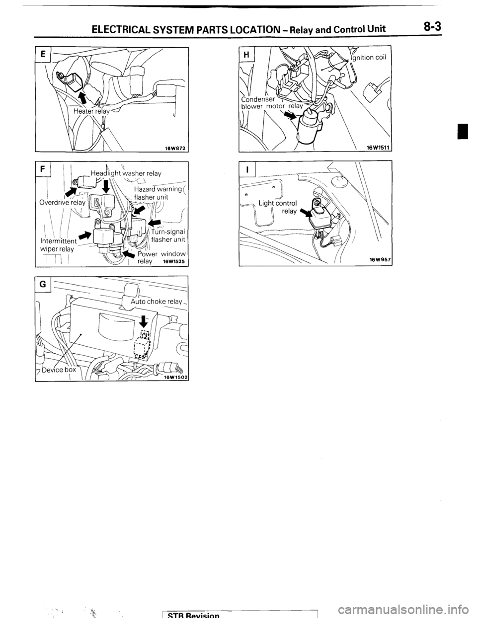 MITSUBISHI MONTERO 1987 1.G Workshop Manual