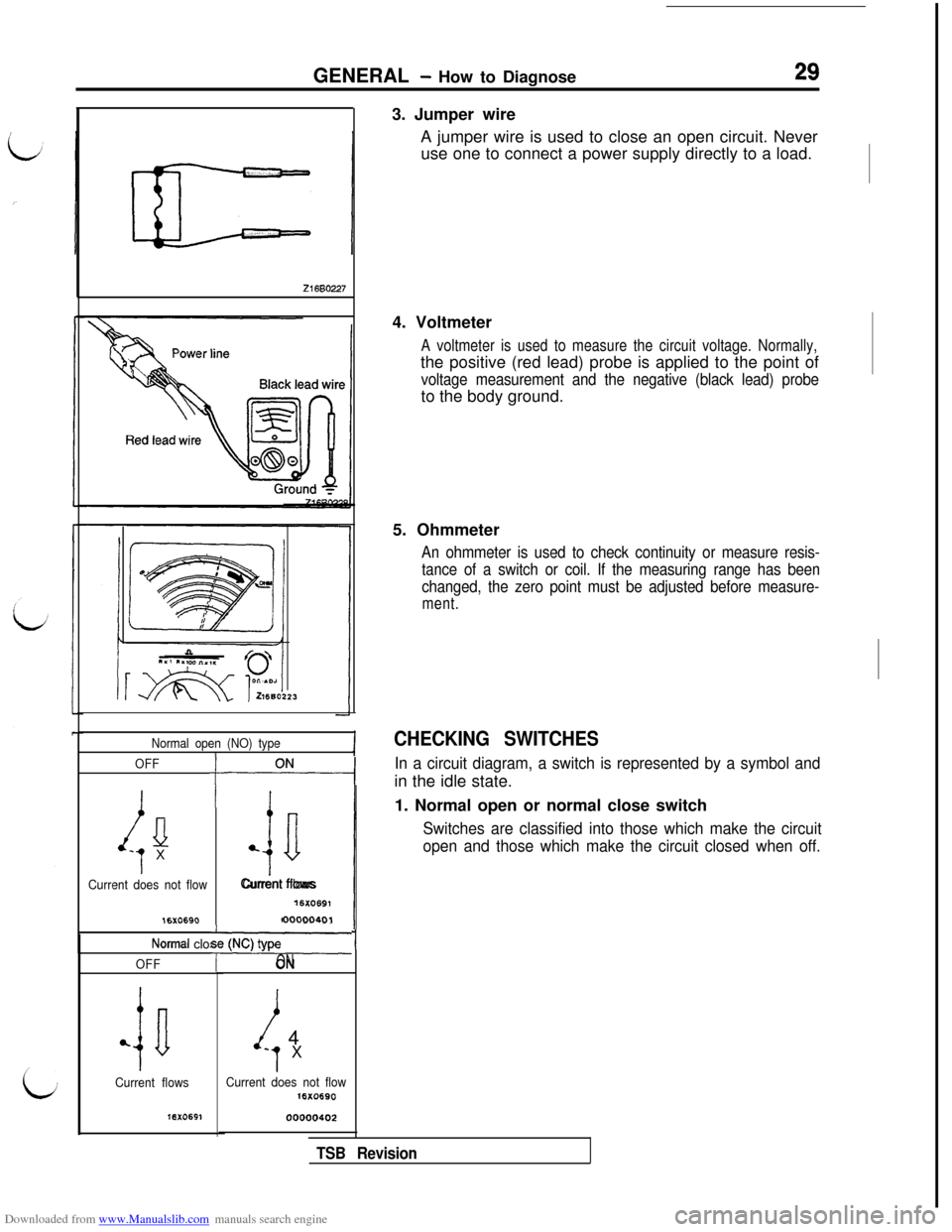 hight resolution of mitsubishi 3000gt 1994 2 g workshop manual page 31