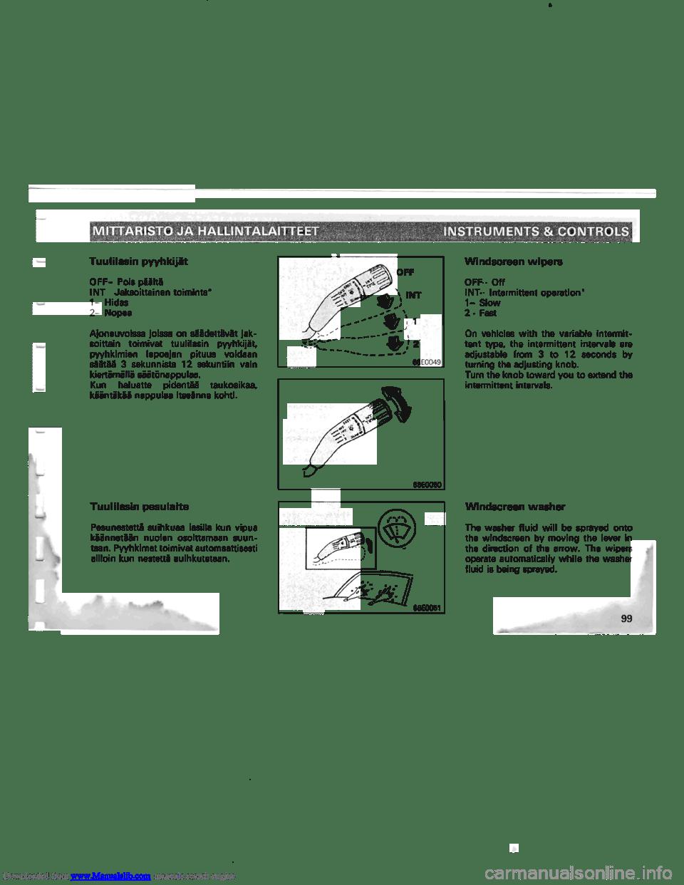 MITSUBISHI PAJERO 1996 2.G Owners Manual