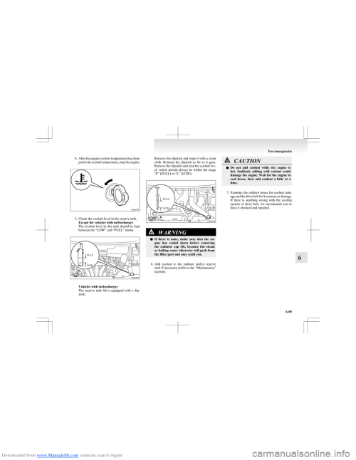 small resolution of mitsubishi colt 2009 10 g owners manual page 190