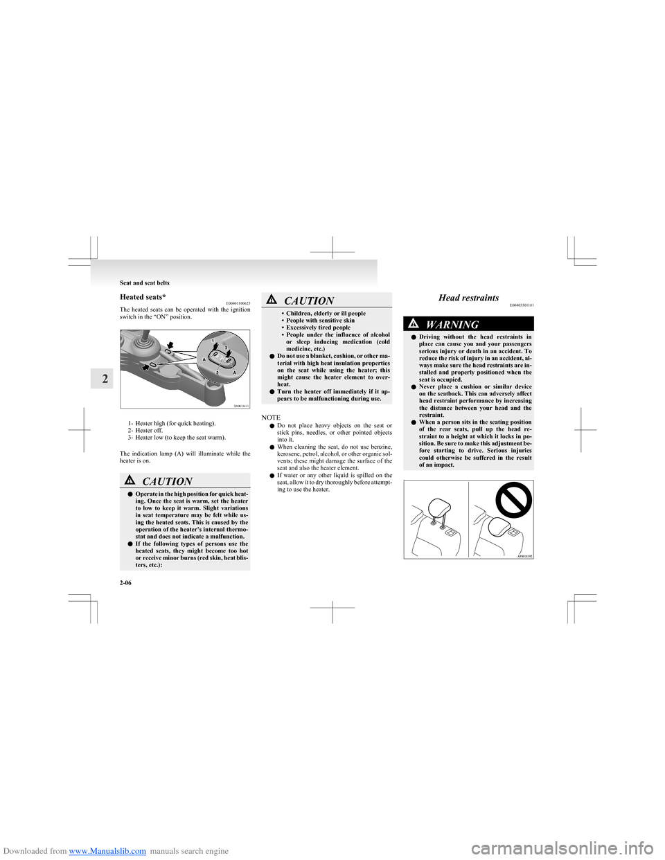 MITSUBISHI COLT 2009 10.G Service Manual (273 Pages)